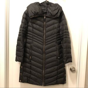 Marc New York chevron quilted coat